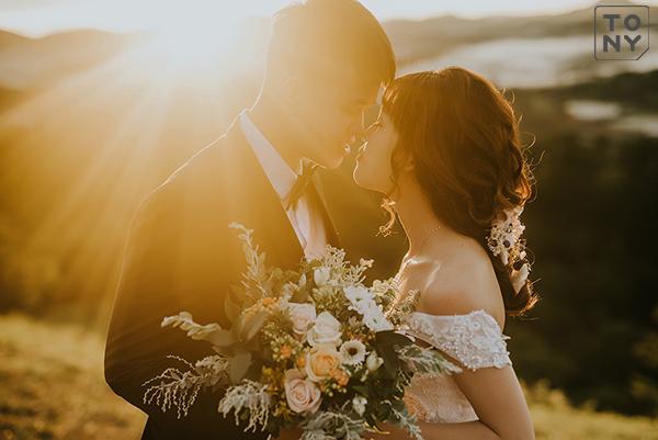 Ảnh cưới Đồi cỏ hồng