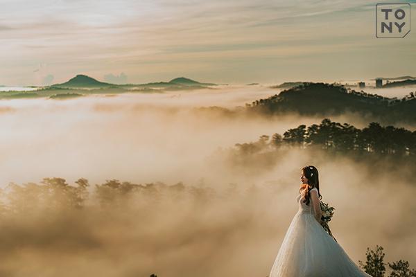 Ảnh cưới Đà Lạt Đồi Thiên Phúc Đức