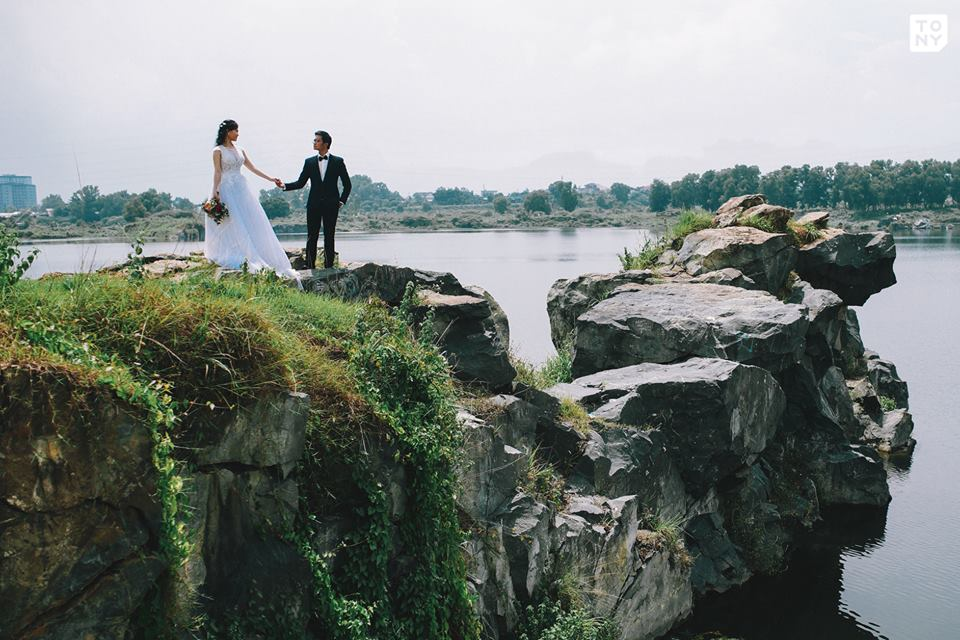 Chụp hình cưới ngoại cảnh Sài Gòn