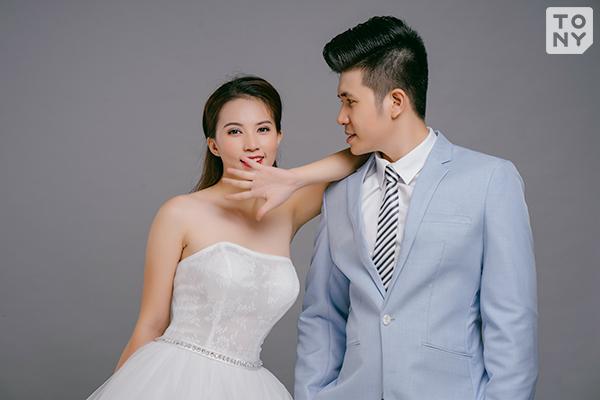 Chụp ảnh cưới phong cách Hàn Quốc tại studio - Tony Wedding
