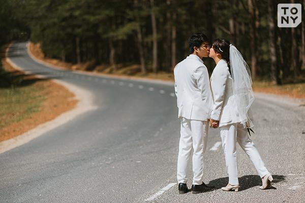 chụp ảnh cưới ngoại cảnh Đà Lạt