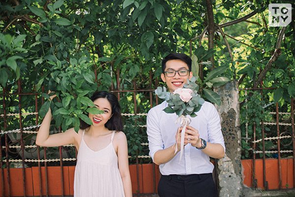 Phong cách chụp ảnh cưới