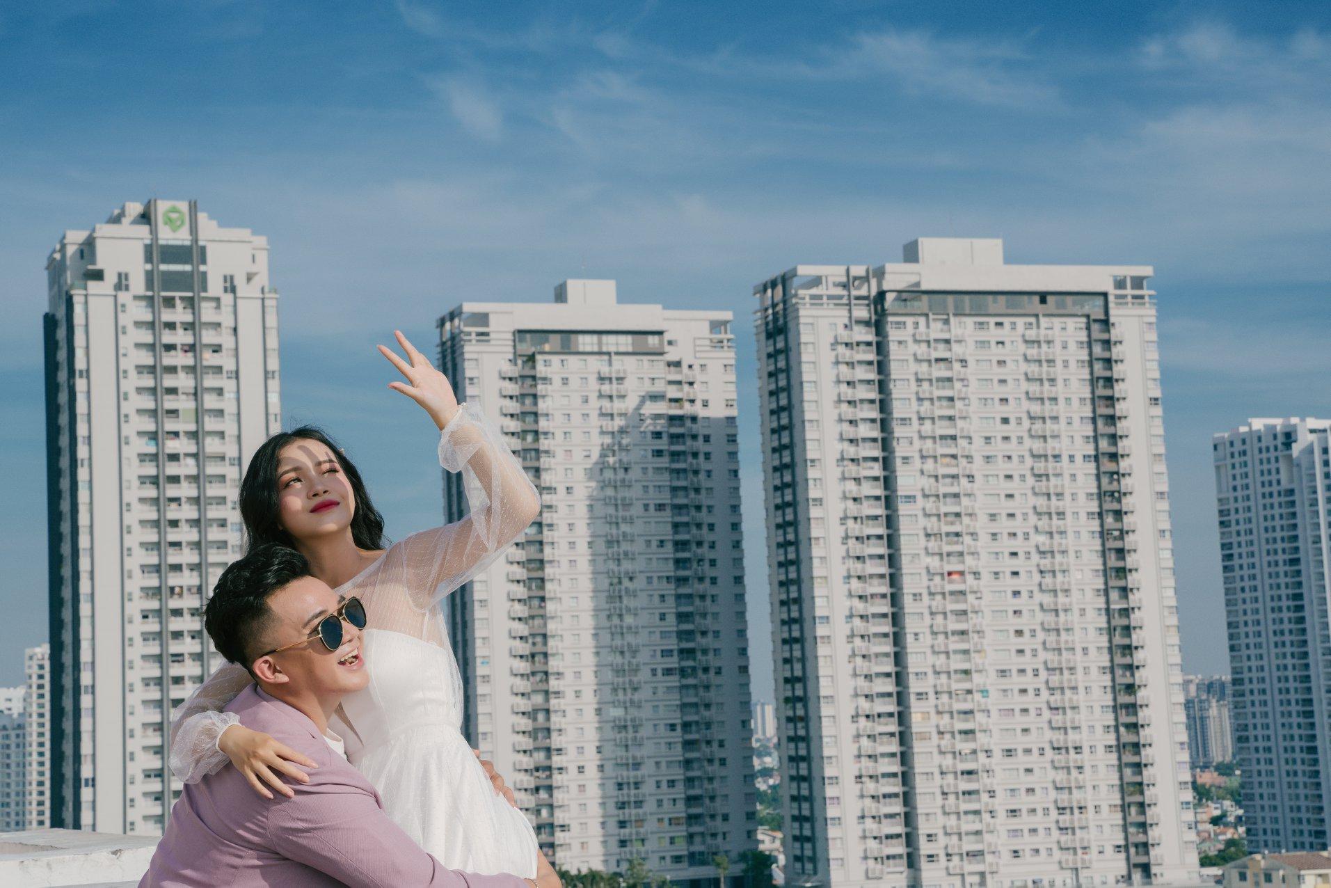 Chụp hình cưới Sài Gòn