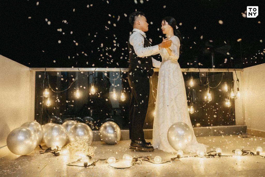 Chụp ảnh cưới ban đêm