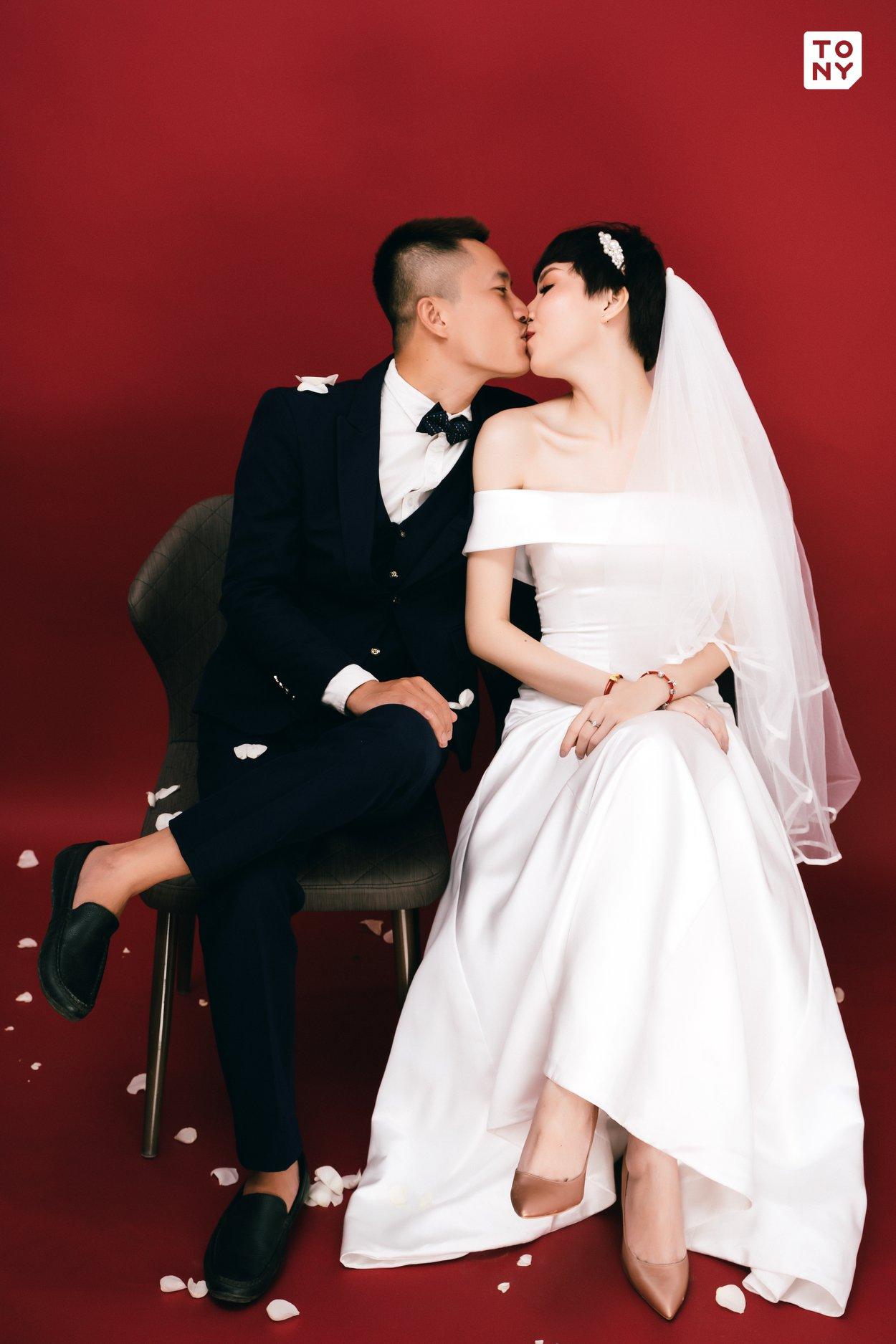 Chụp ảnh cưới studio
