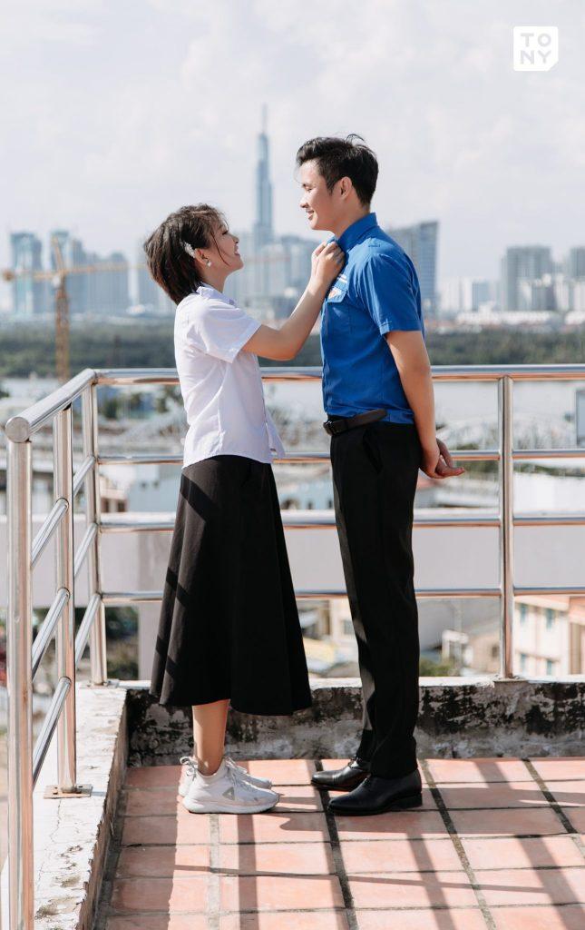Chụp ảnh cưới Sài Gòn