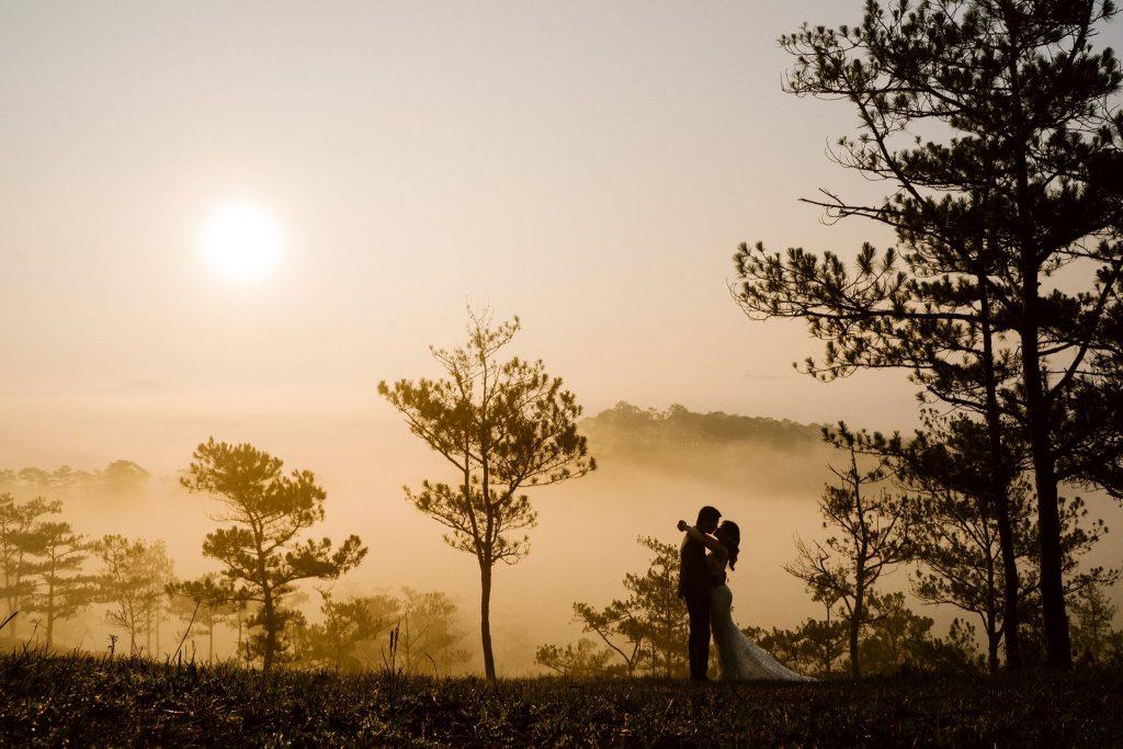 Kinh nghiệm chụp ảnh cưới Đà Lạt