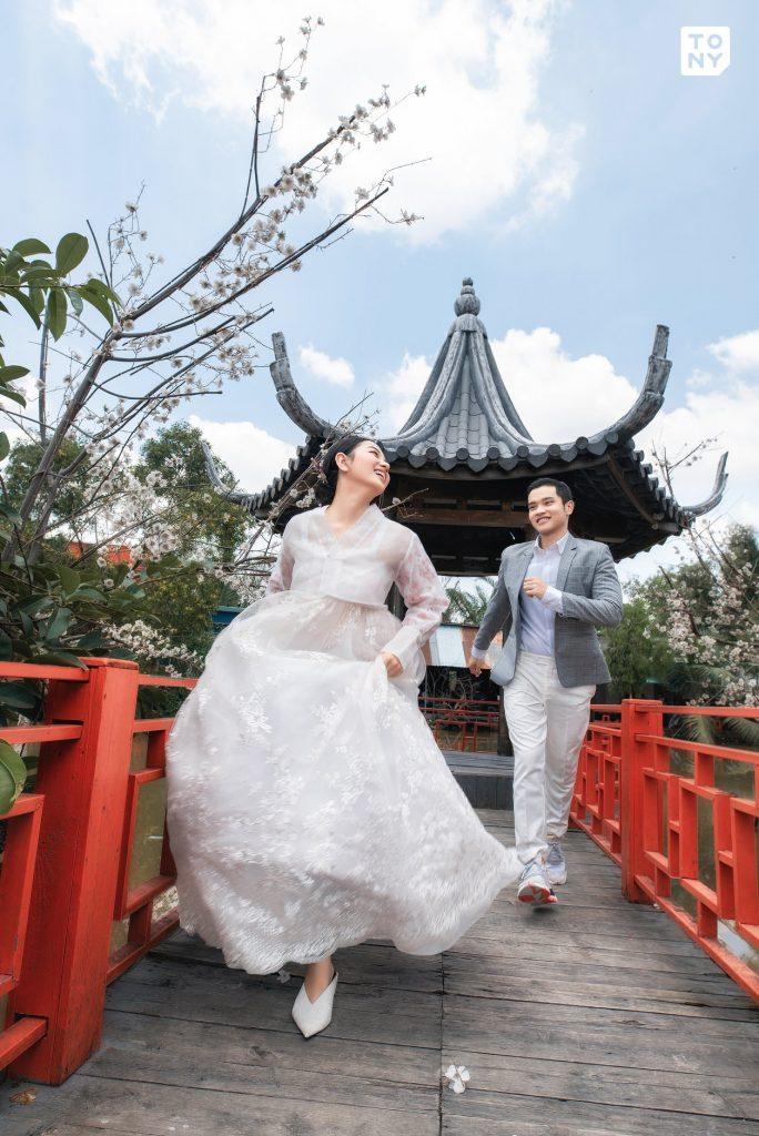 Ảnh cưới phong cách Hàn Quốc
