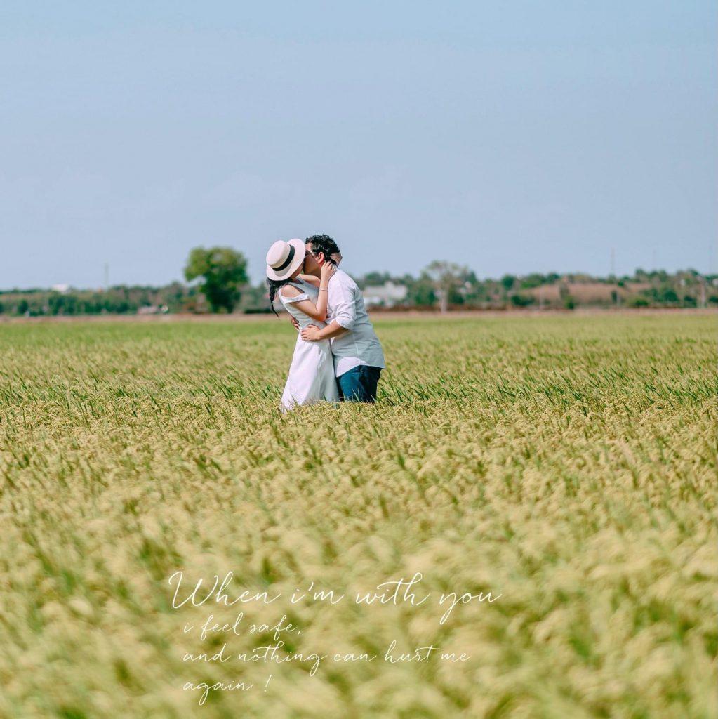 Chụp ảnh cưới tự nhiên